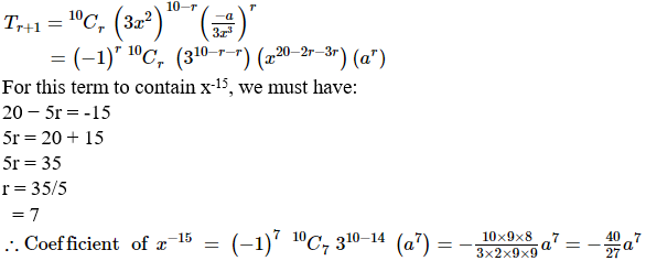 RD Sharma Solutions for Class 11 Maths Chapter 18 – Binomial Theorem image - 28