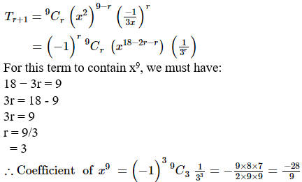 RD Sharma Solutions for Class 11 Maths Chapter 18 – Binomial Theorem image - 29