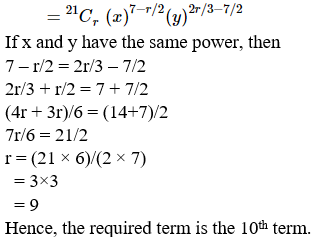 RD Sharma Solutions for Class 11 Maths Chapter 18 – Binomial Theorem image - 35