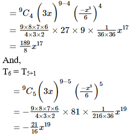 RD Sharma Solutions for Class 11 Maths Chapter 18 – Binomial Theorem image - 41