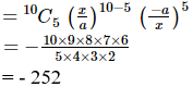 RD Sharma Solutions for Class 11 Maths Chapter 18 – Binomial Theorem image - 56