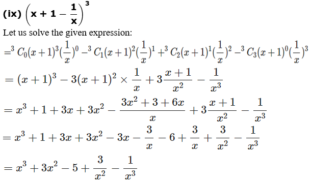 RD Sharma Solutions for Class 11 Maths Chapter 18 – Binomial Theorem image - 6