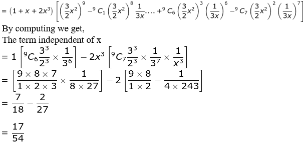 RD Sharma Solutions for Class 11 Maths Chapter 18 – Binomial Theorem image - 62