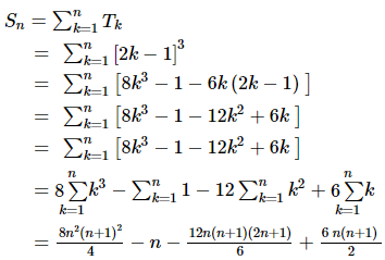RD Sharma Solutions for Class 11 Maths Chapter 21 – Some Special Series image - 1