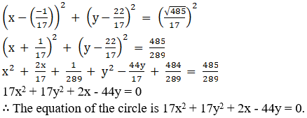 RD Sharma Solutions for Class 11 Maths Chapter 24 – The Circle - image 10