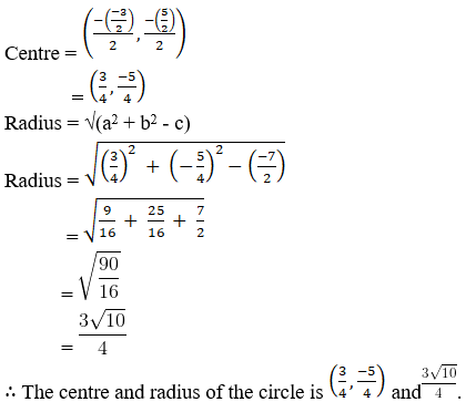 RD Sharma Solutions for Class 11 Maths Chapter 24 – The Circle - image 12