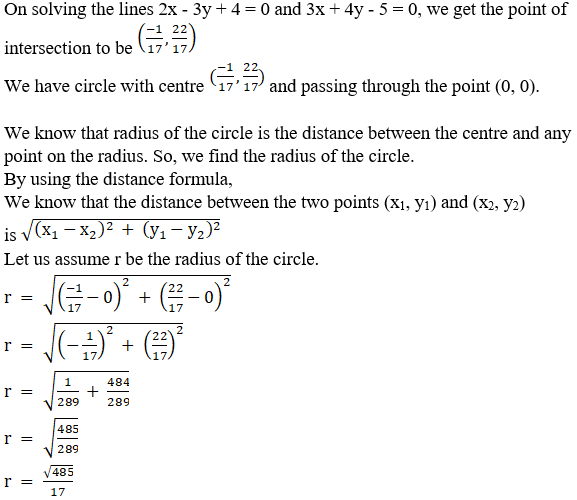 RD Sharma Solutions for Class 11 Maths Chapter 24 – The Circle - image 9