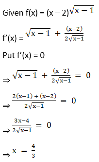 RD Sharma Solutions for Class 12 Maths Chapter 18 Maxima and Minima Image 12