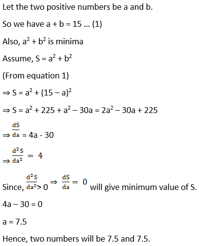 RD Sharma Solutions for Class 12 Maths Chapter 18 Maxima and Minima Image 14