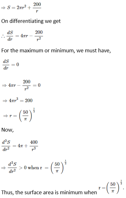 RD Sharma Solutions for Class 12 Maths Chapter 18 Maxima and Minima Image 19