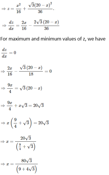 RD Sharma Solutions for Class 12 Maths Chapter 18 Maxima and Minima Image 31