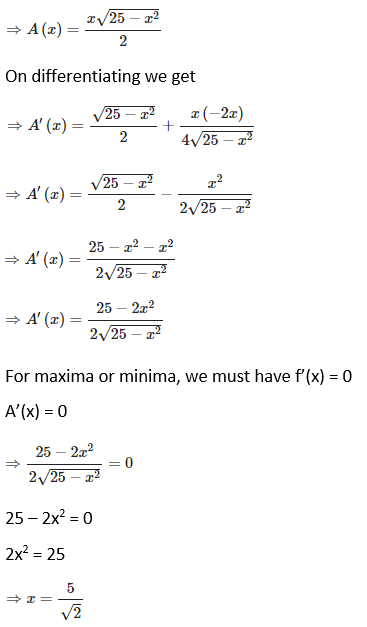 RD Sharma Solutions for Class 12 Maths Chapter 18 Maxima and Minima Image 37