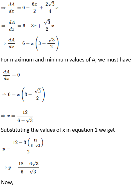 RD Sharma Solutions for Class 12 Maths Chapter 18 Maxima and Minima Image 53