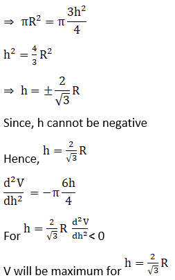 RD Sharma Solutions for Class 12 Maths Chapter 18 Maxima and Minima Image 57