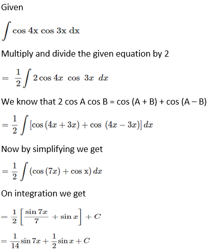 RD Sharma Solutions for Class 12 Maths Chapter 19 Indefinite Integrals Image 130