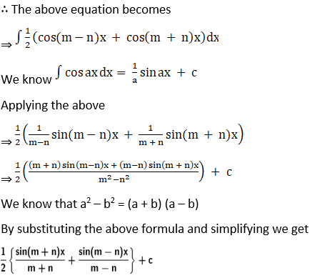 RD Sharma Solutions for Class 12 Maths Chapter 19 Indefinite Integrals Image 133