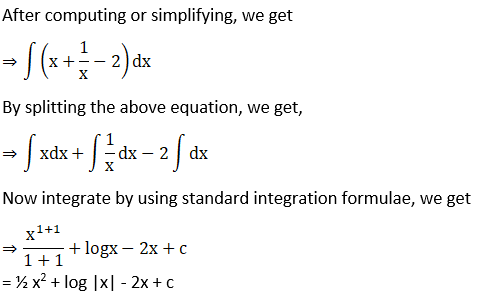 RD Sharma Solutions for Class 12 Maths Chapter 19 Indefinite Integrals Image 40