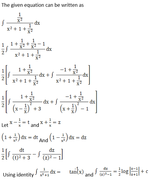 RD Sharma Solutions for Class 12 Maths Chapter 19 Indefinite Integrals Image 539