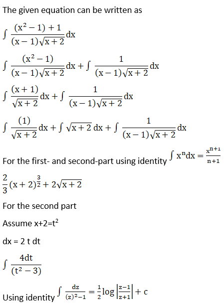 RD Sharma Solutions for Class 12 Maths Chapter 19 Indefinite Integrals Image 554