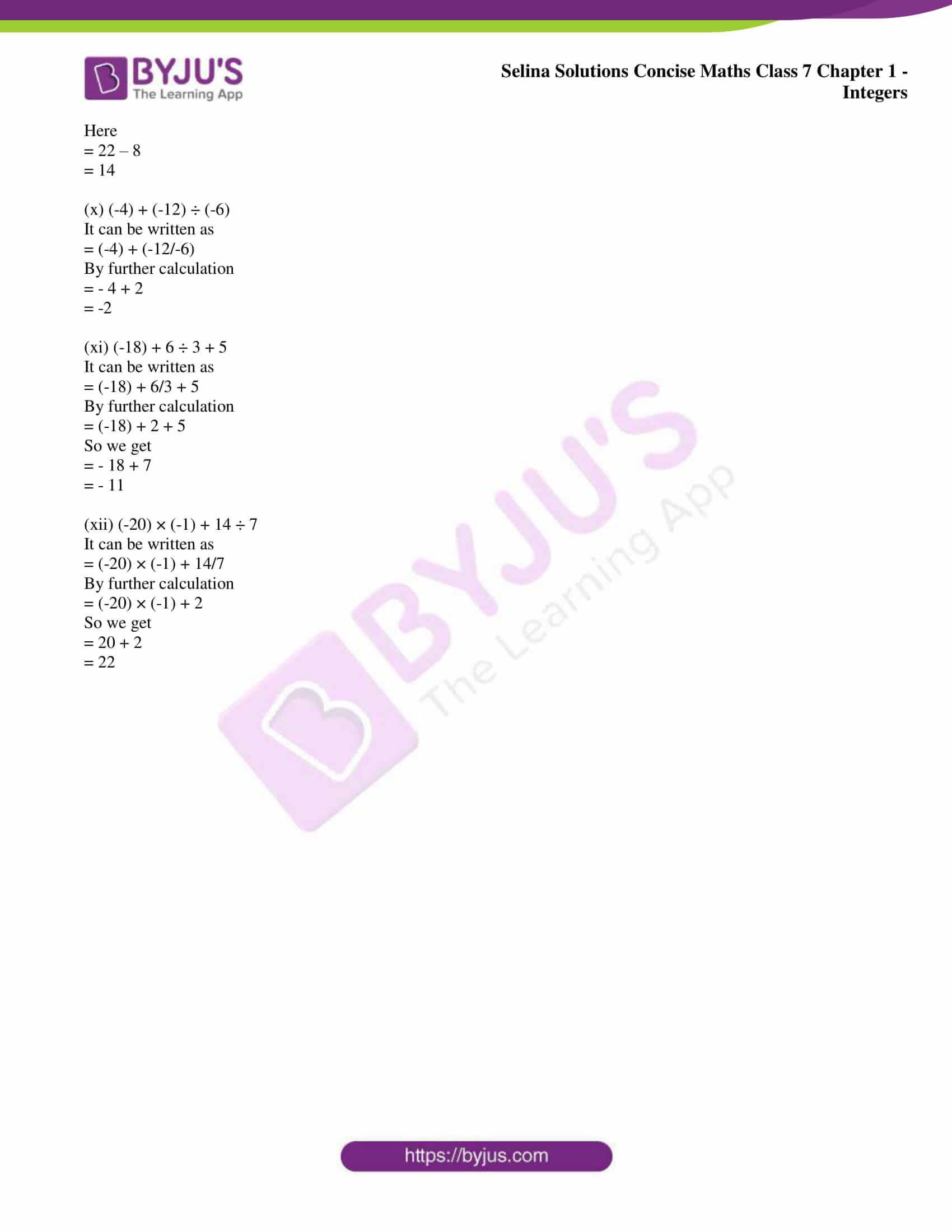 selina sol concise maths class 7 ch1 ex 1b 7