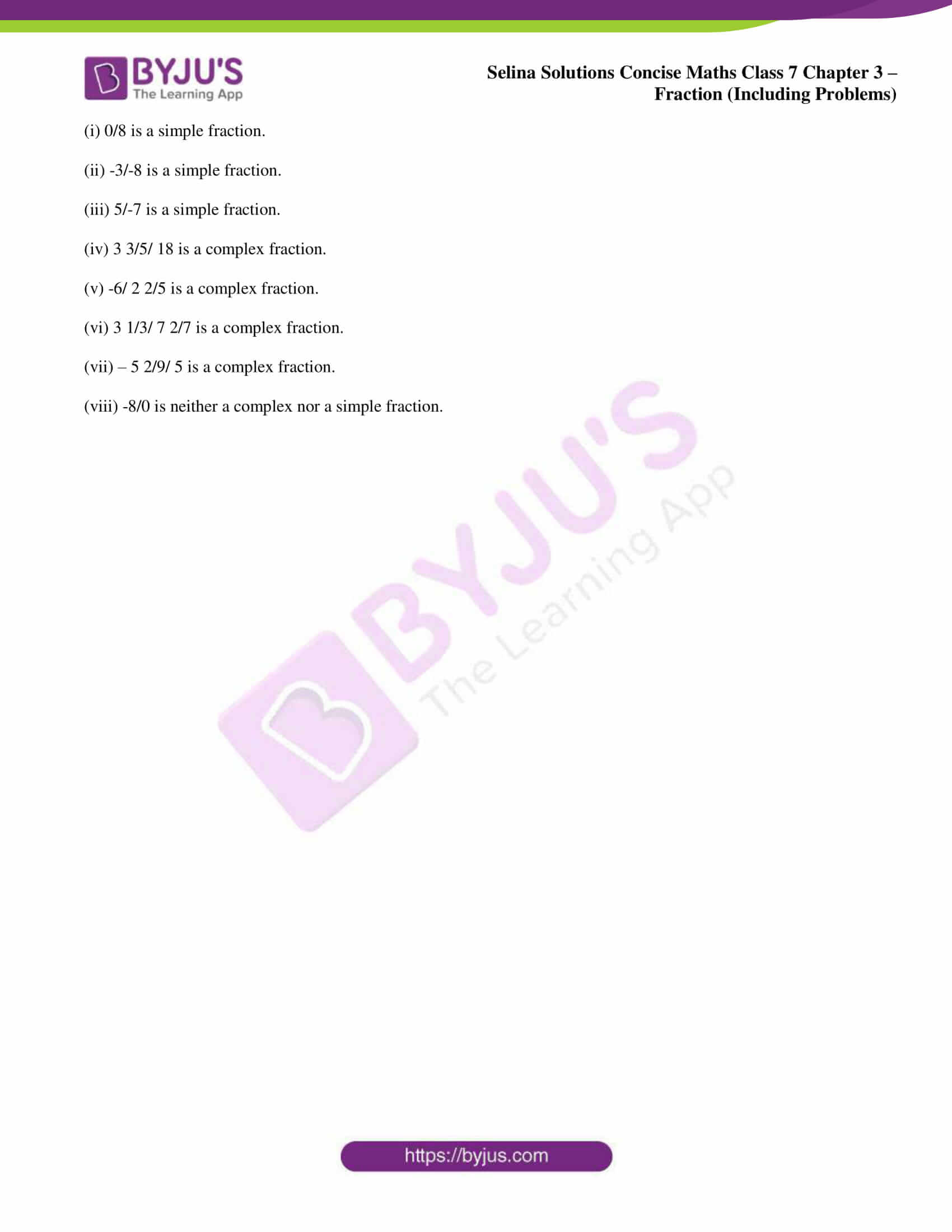 selina sol concise maths class 7 ch3 ex 3a 4