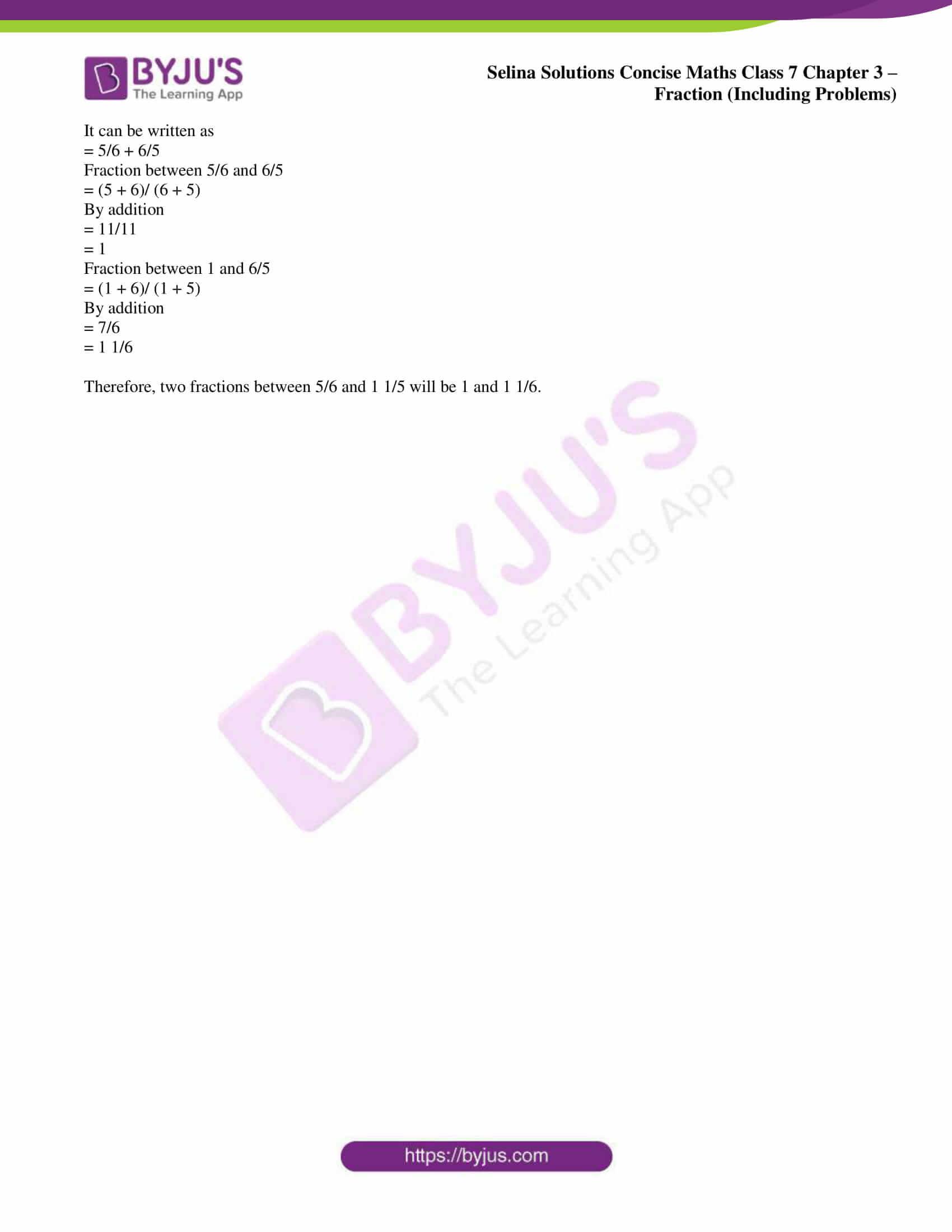 selina sol concise maths class 7 ch3 ex 3b 7