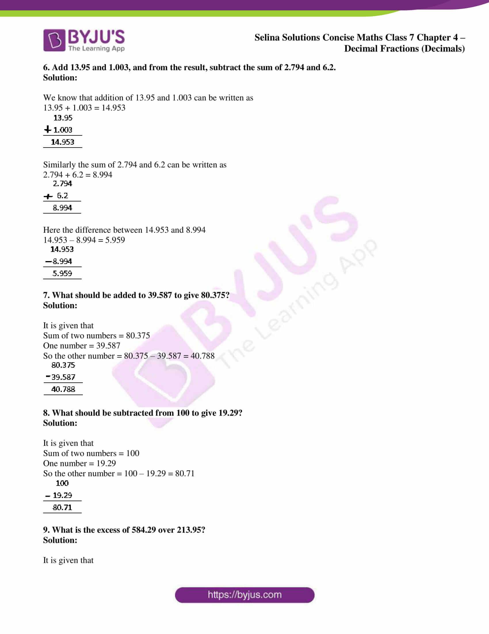 selina sol concise maths class 7 ch4 ex 4b 08