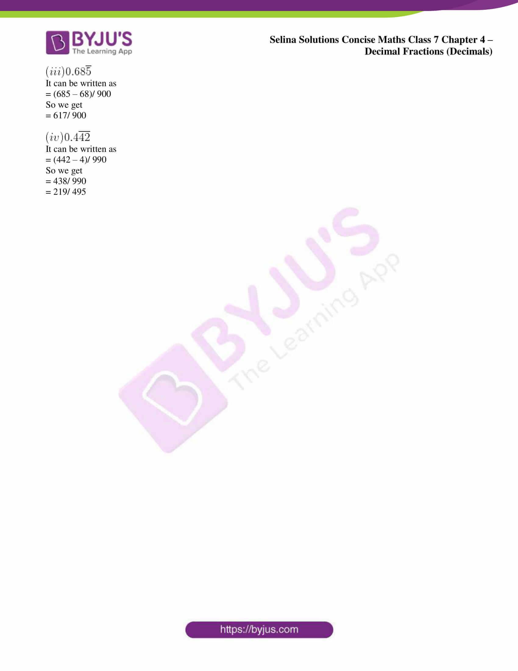 selina sol concise maths class 7 ch4 ex 4d 10