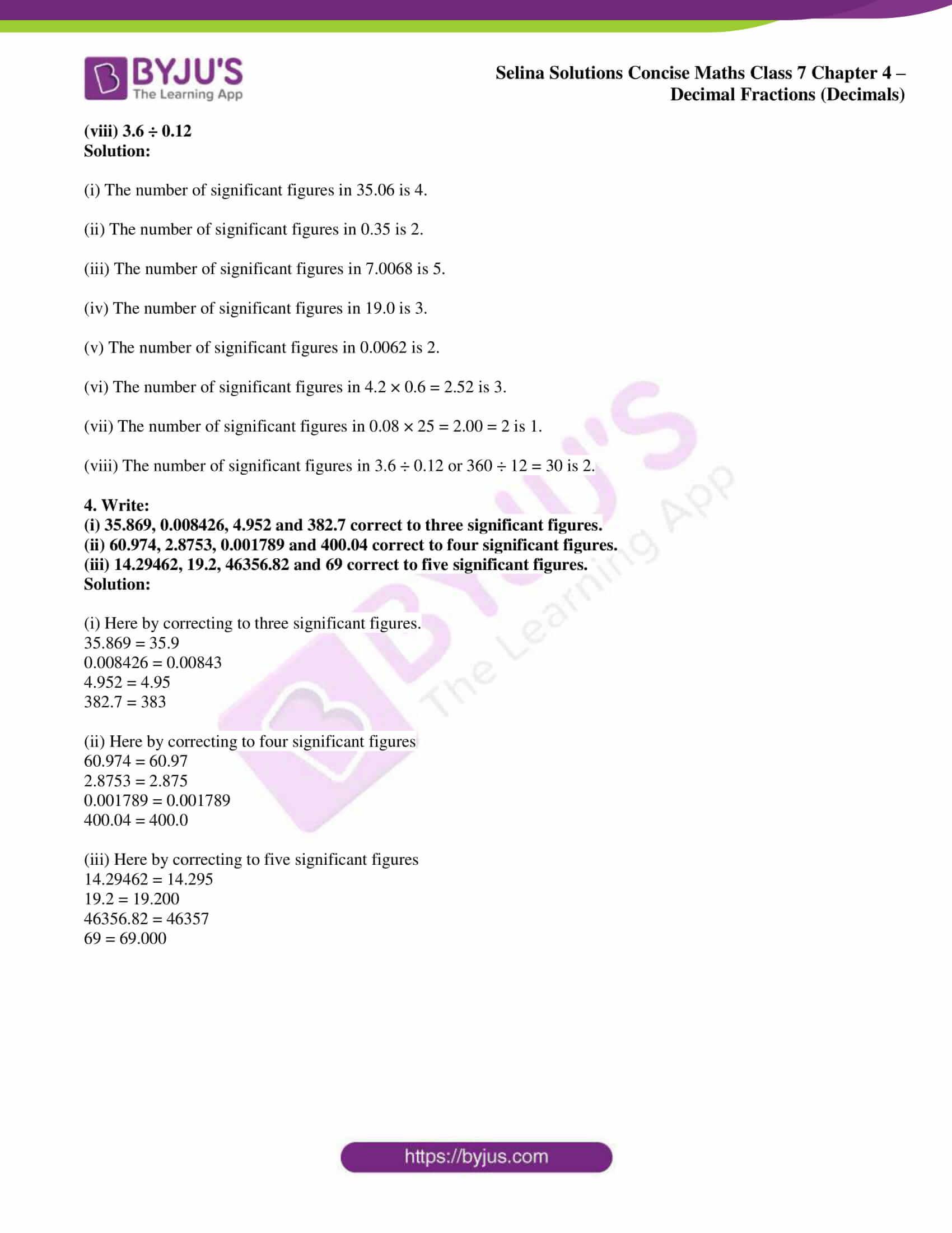 selina sol concise maths class 7 ch4 ex 4e 2