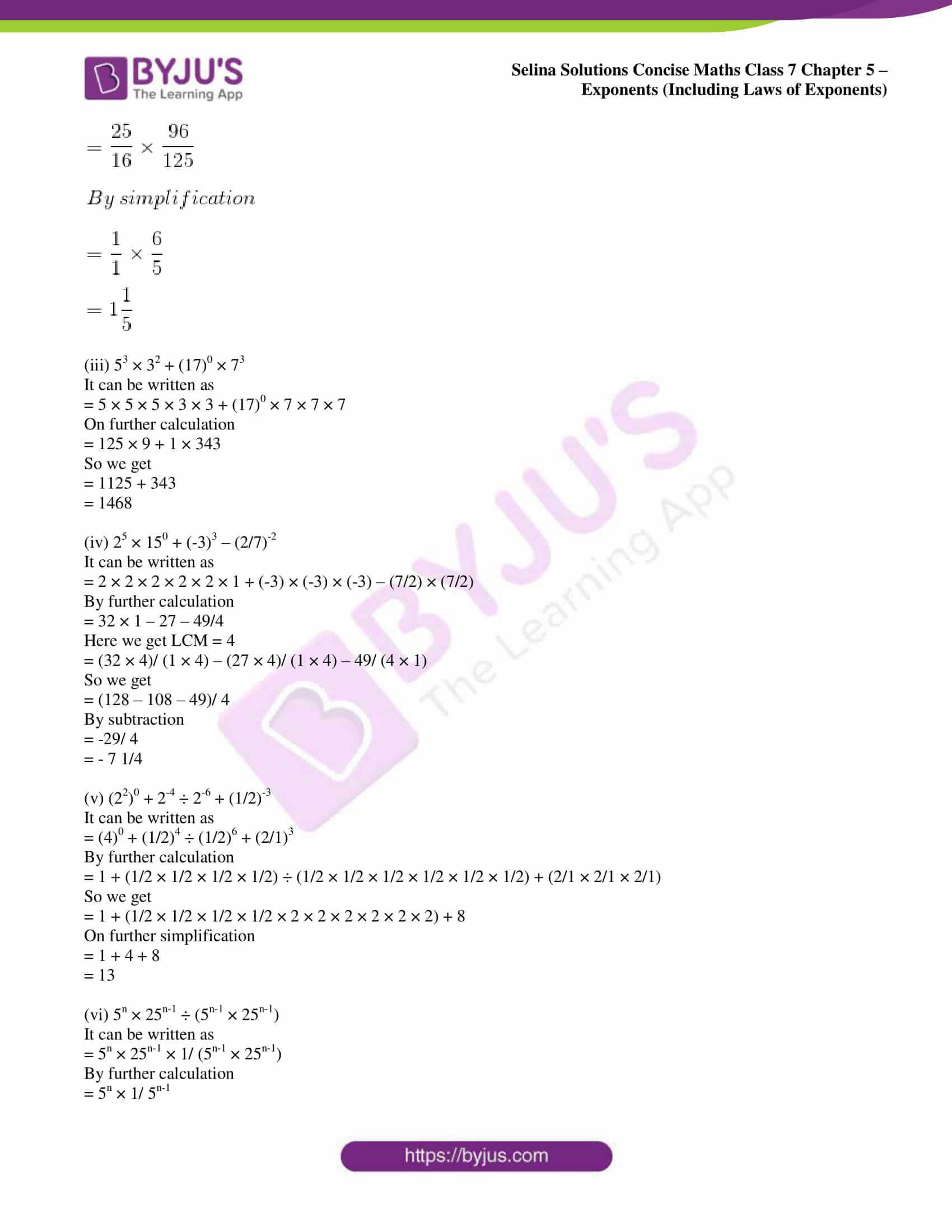 selina sol concise maths class 7 ch5 ex 5b 13