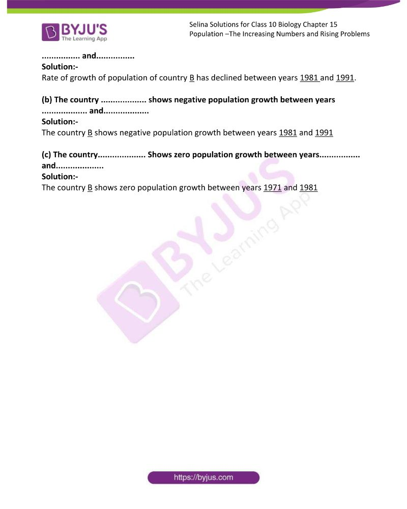 Selina Solutions For Class 10 Biology Chapter 15 7