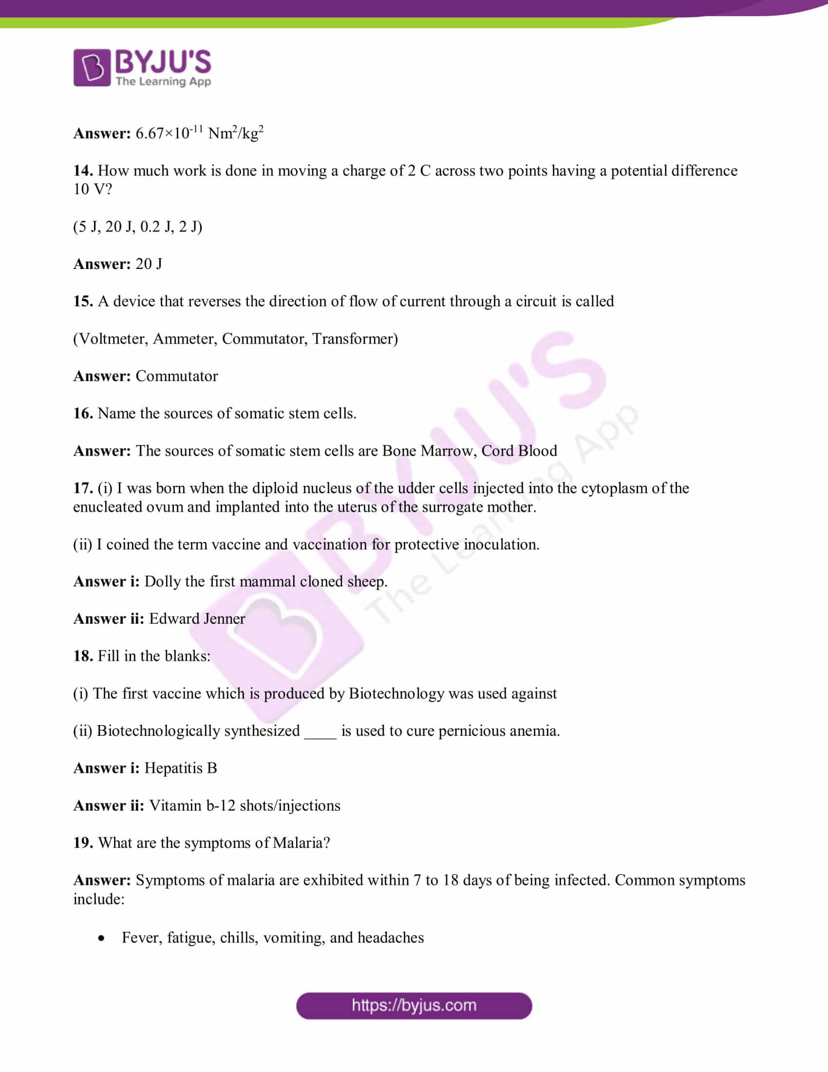 tn board class 10 sci solved pre year quest papers 2019 03