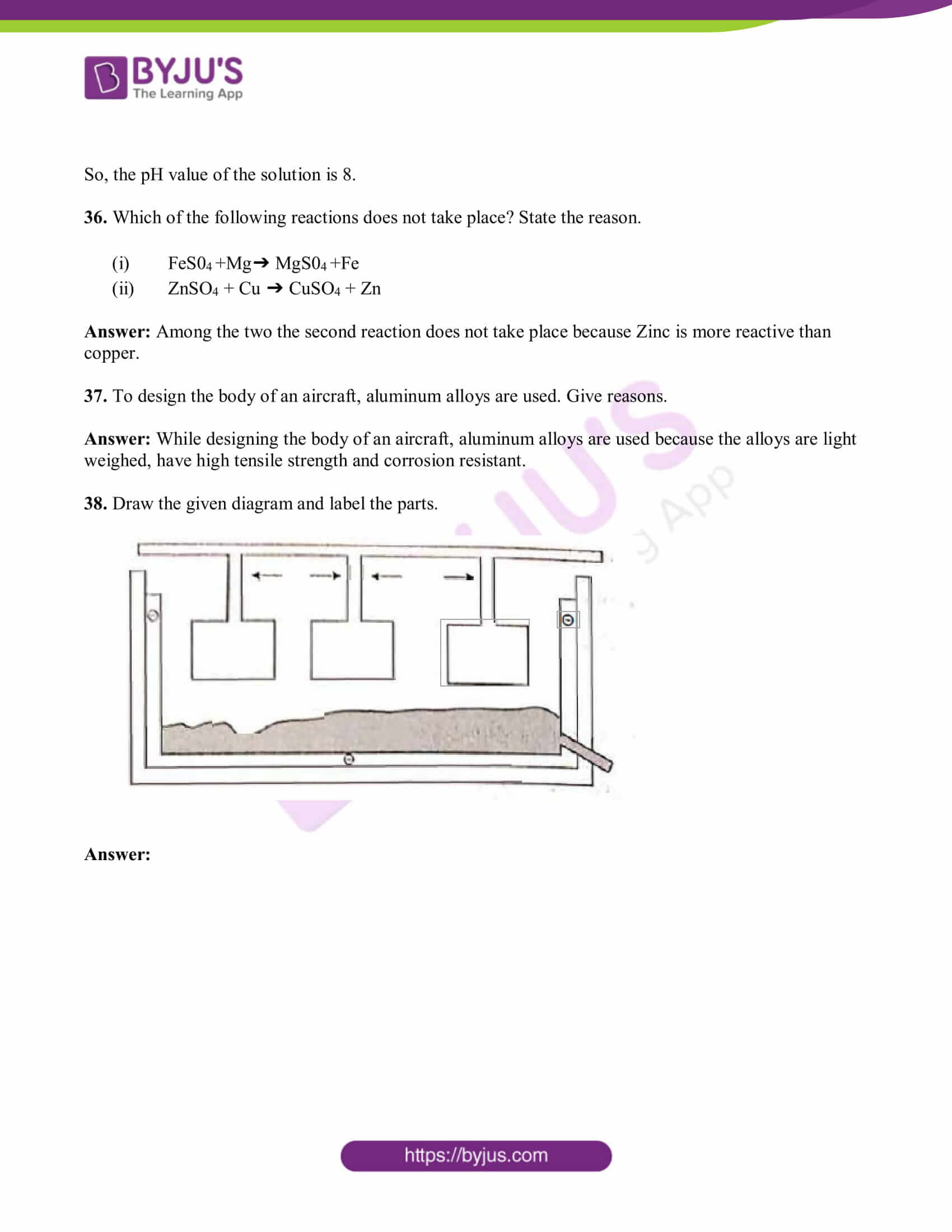 tn board class 10 sci solved pre year quest papers 2019 10