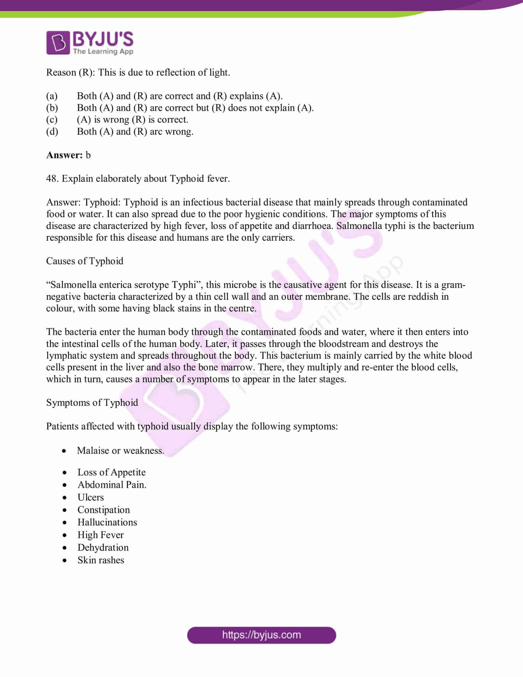 tn board class 10 sci solved pre year quest papers 2019 14