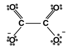 Oxalate ion (ox)