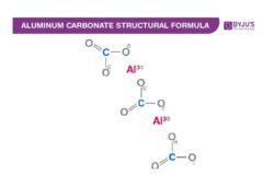 Aluminium Carbonate Chemical Structure
