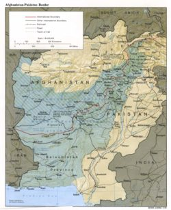 Durand Line Map