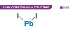 Lead Iodide Formula Structure
