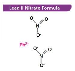 Lead II Nitrate Structural Formula