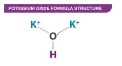 Potassium Oxide Formula Structure