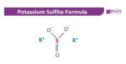 Potassium Sulfite Structural Formula
