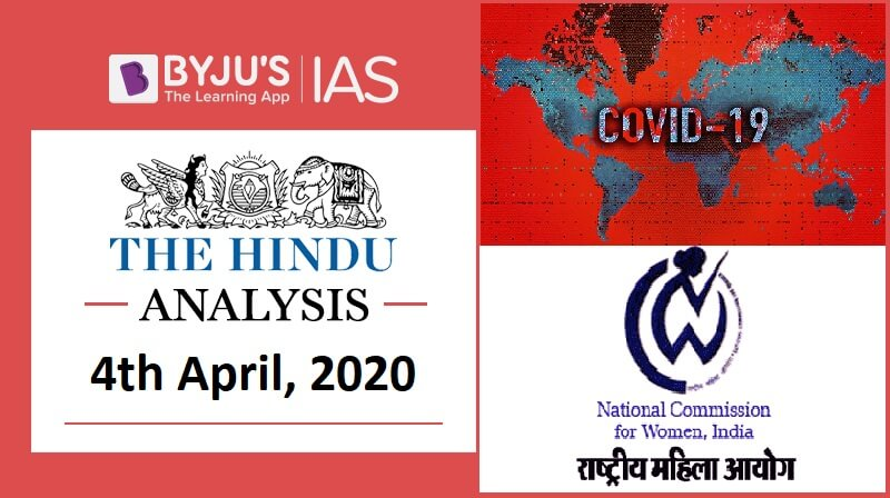 04 April 2020: The Hindu Analysis