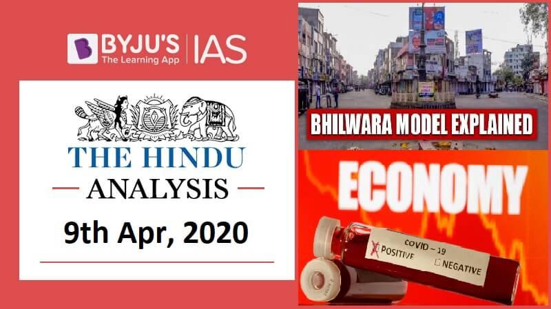 08 April 2020: The Hindu Analysis