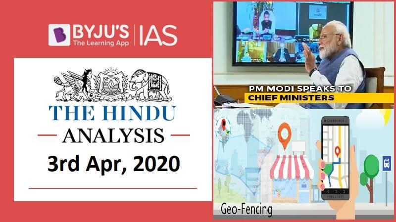 03 April 2020: The Hindu Analysis