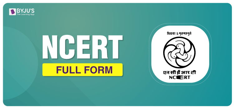 What Is The Full Form of NCERT?