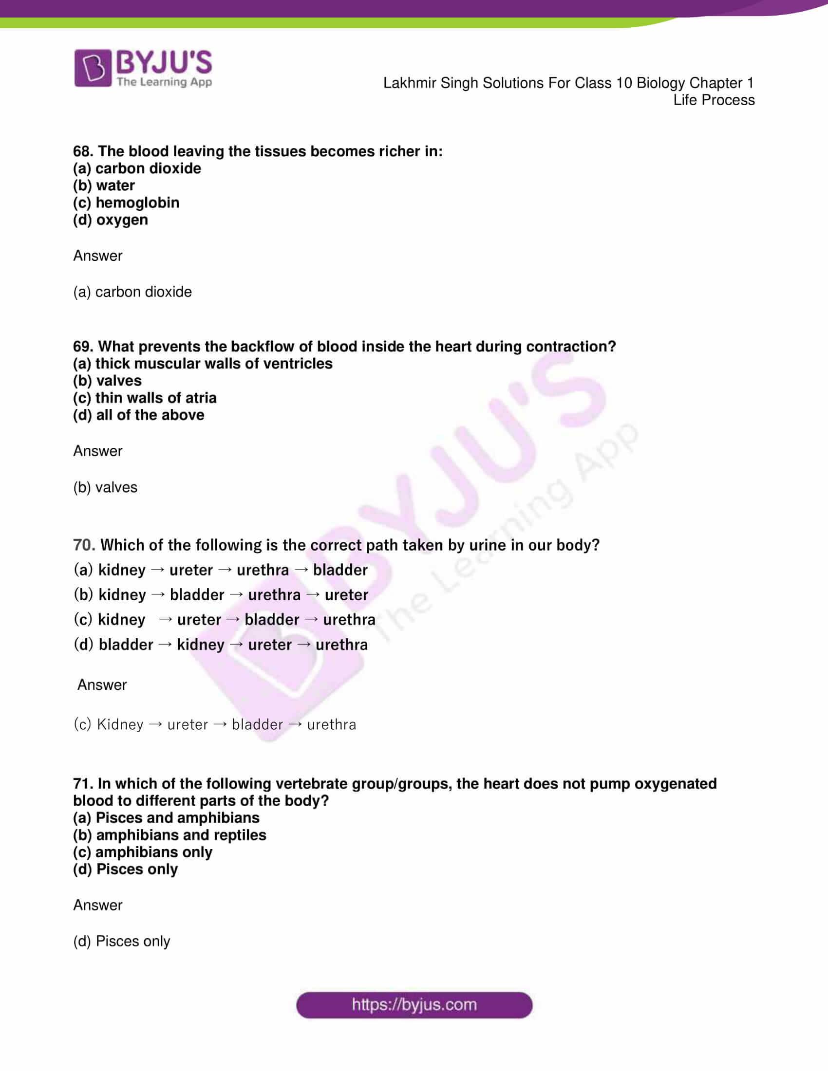 lakhmir singh sol class 10 biology chapter 1 83