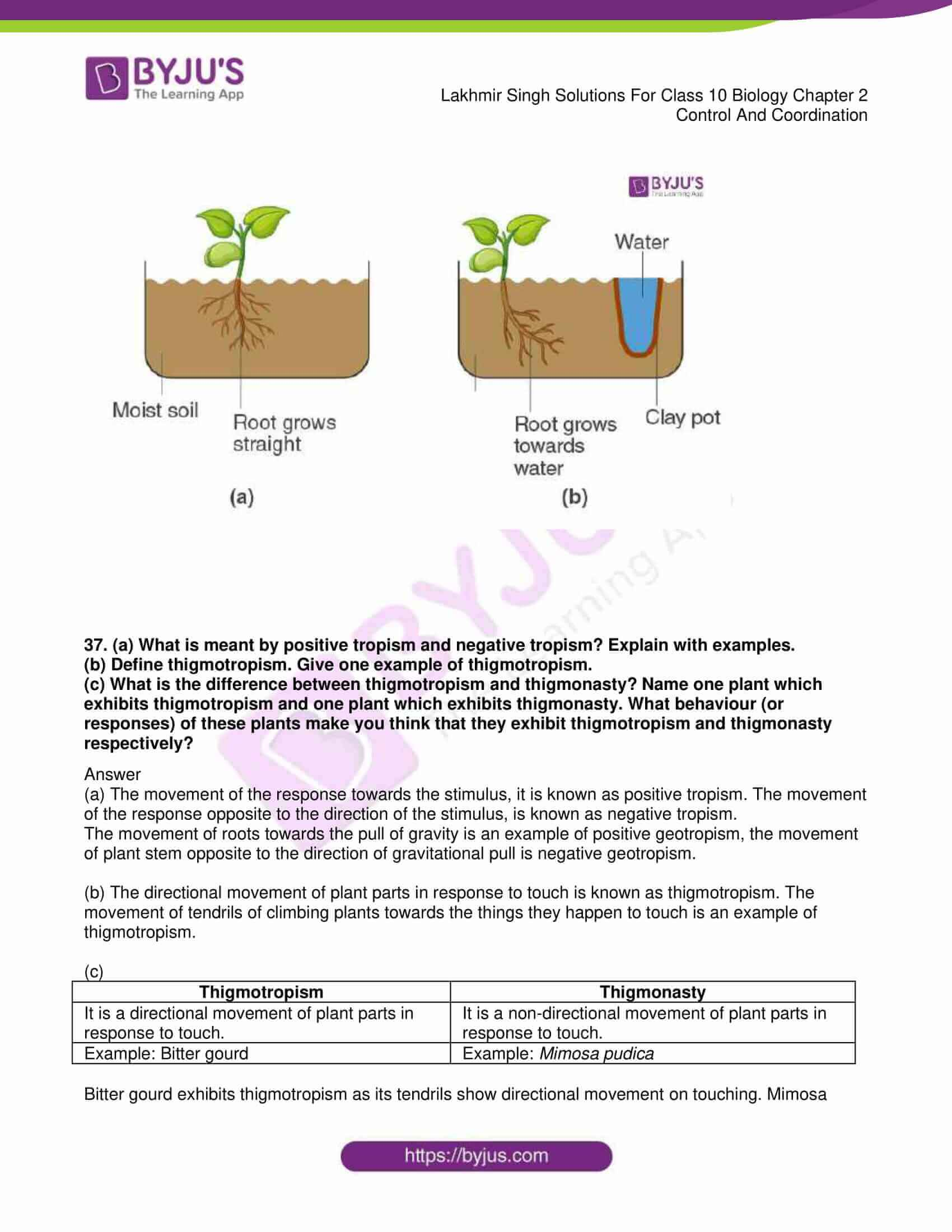 lakhmir singh sol class 10 biology chapter 2 13