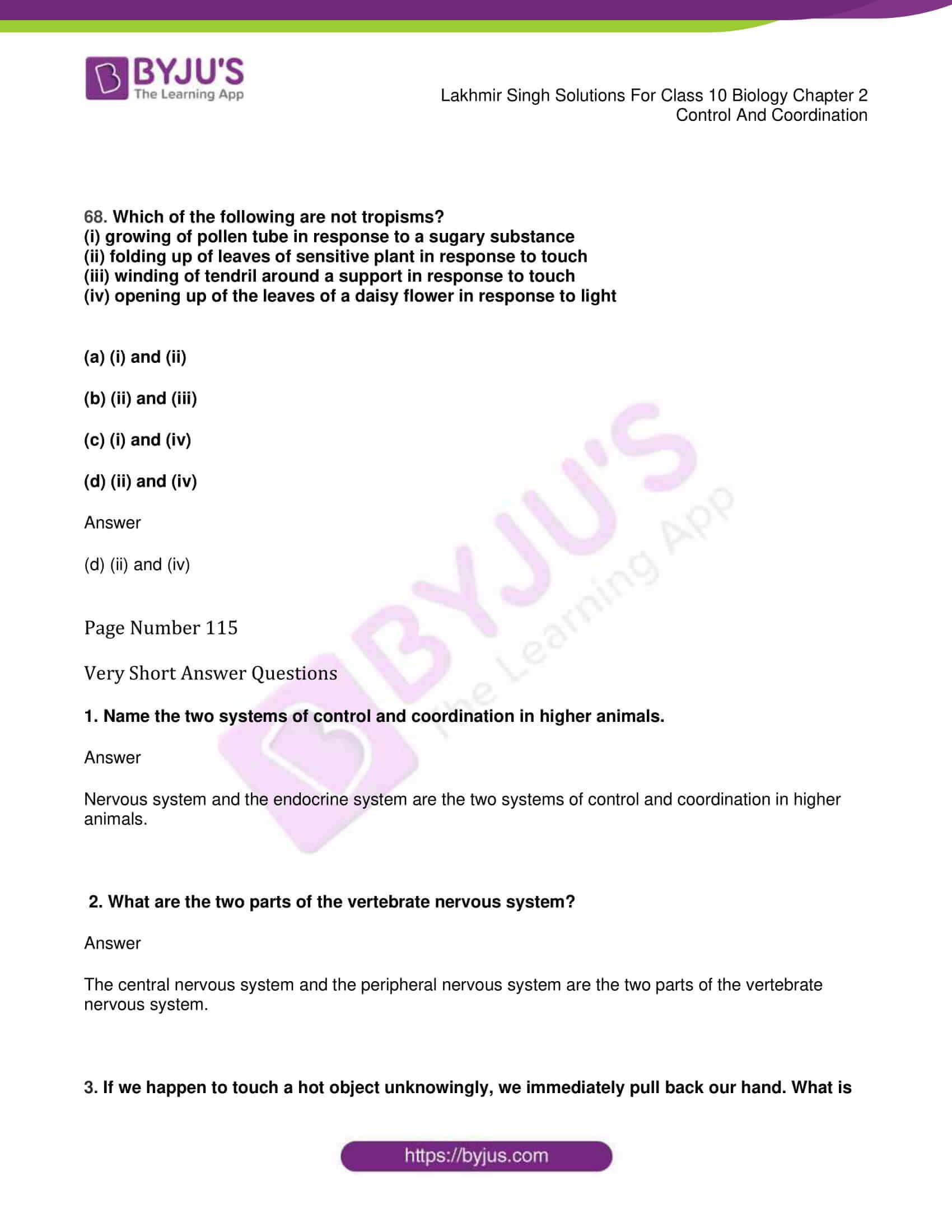 lakhmir singh sol class 10 biology chapter 2 22