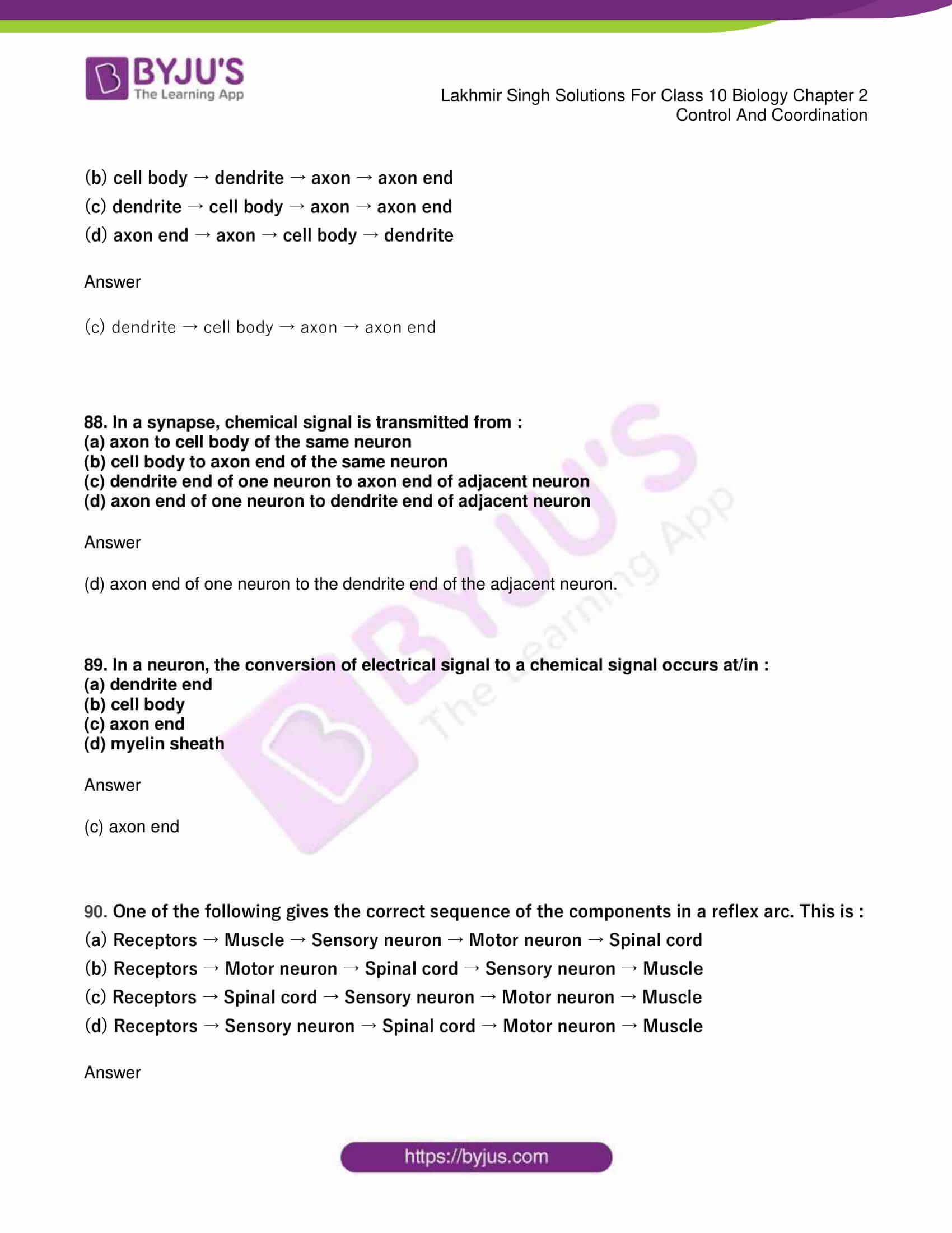 lakhmir singh sol class 10 biology chapter 2 49