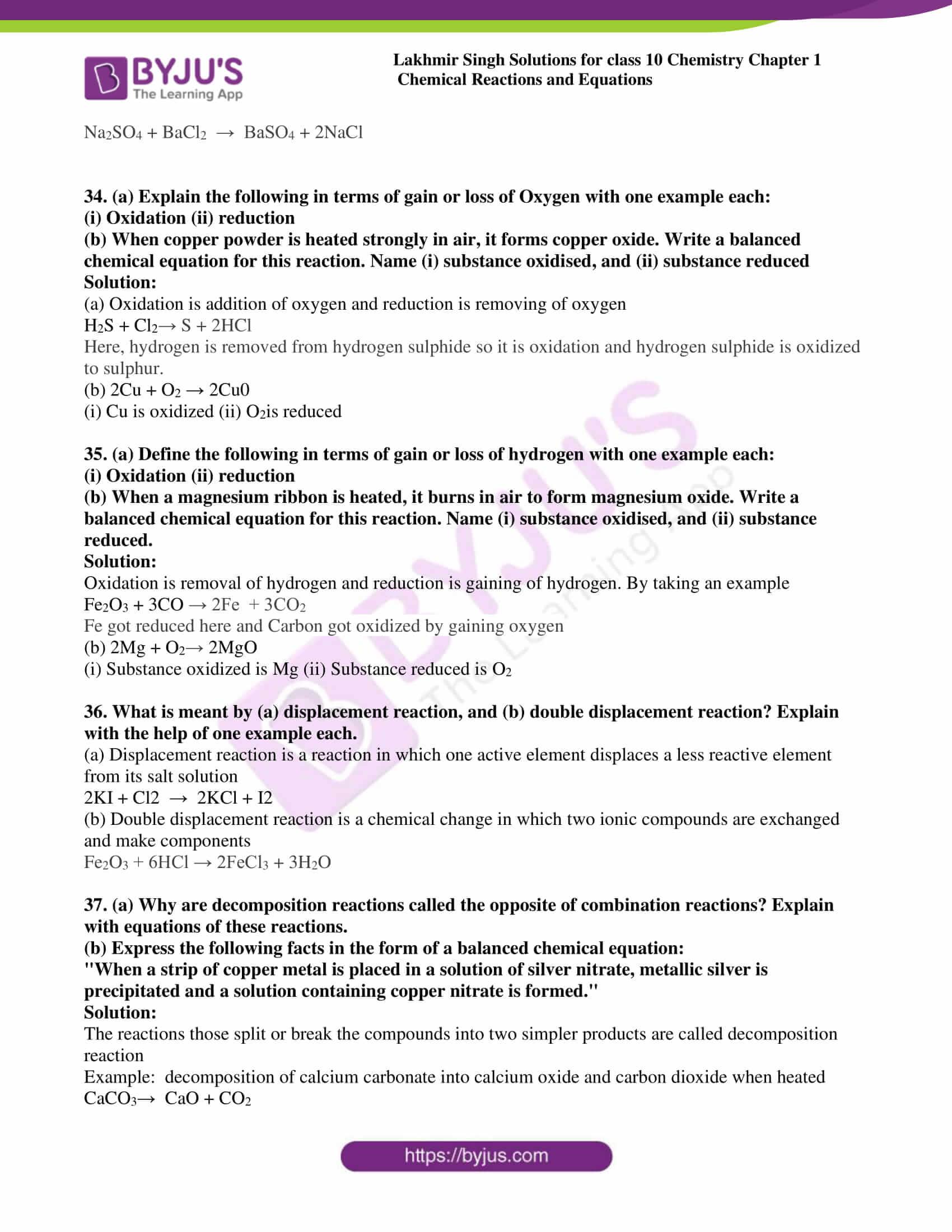 lakhmir singh sol class 10 che chapter 1 23